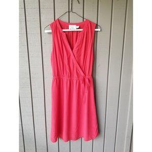 Cynthia rowley silk wrap dress